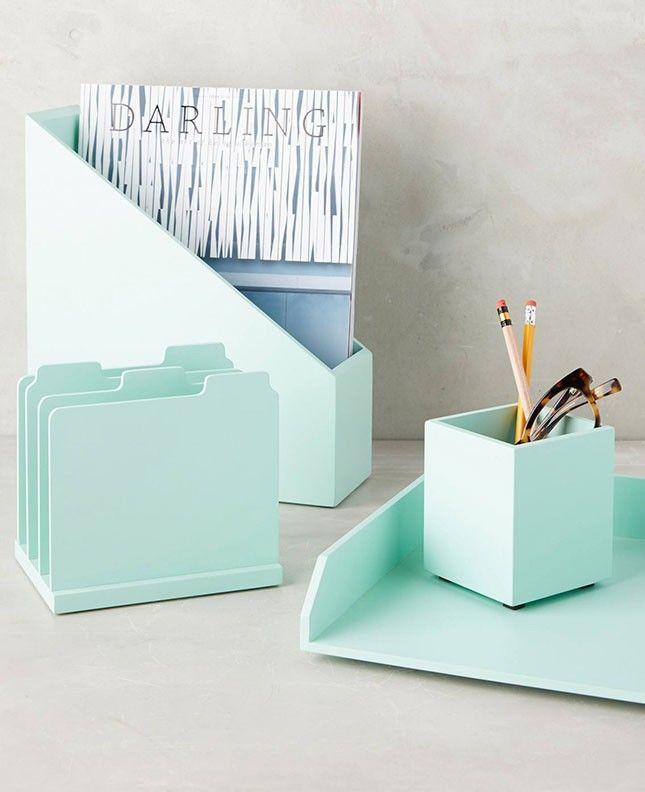 14 Organizers To Show Your Desk Who S Boss Cubicle Decor Desk Decor Desk Accessories