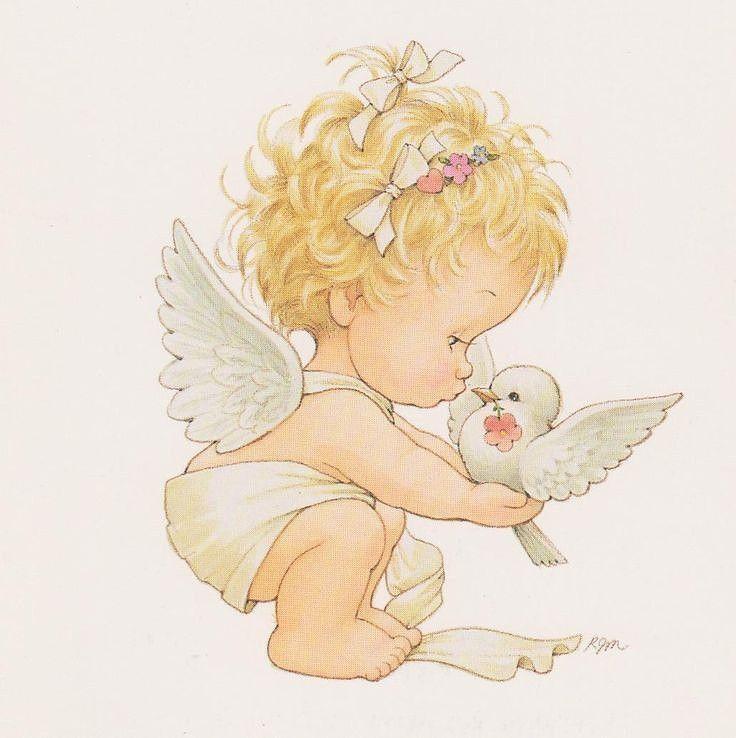 Белый ангел открытки, приколом про