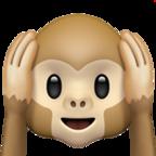 Hear No Evil Monkey Monkey Emoji Emoji Monkey Face