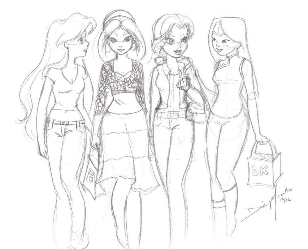 Modern Disney Princess Coloring Pages Tips
