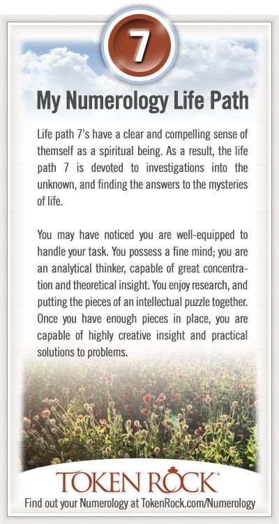 My #Numerology Life Path #7 Quotes Pinterest Numerology - numerology chart template