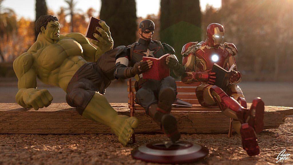 Happy World Book Day by @suppaduppa666   #captainamericacivilwar #marvelcomics #Comics #comicbooks #avengers #marvel  #captainamerica #ironman #thor #hulk #hawkeye #blackwidow #spiderman #vision #scarletwitch #civilwar #spiderman #infinitygauntlet #blackpanther #gotg #deadpool #wolverine #daredevil #falcon #wintersoldier #warmachine #uncannyavengers  #drstrange http://ift.tt/1T5WOes