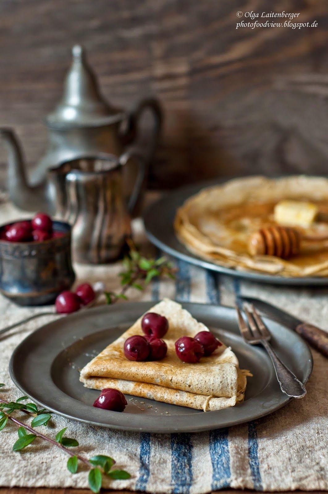 Insight Flavour: Buchweizenpfannkuchen / блины из ...
