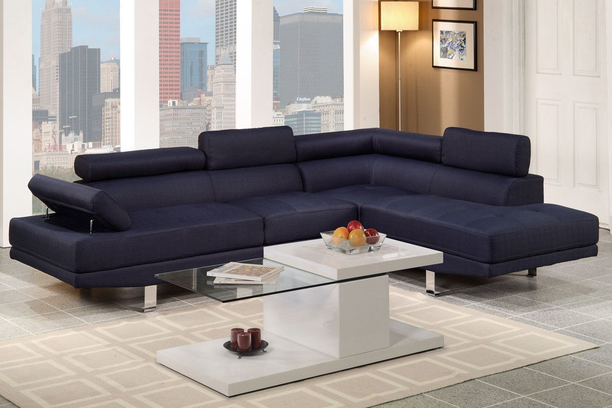 poundex sectional sofa rouge collection f7569 for 520 00 rh pinterest co uk