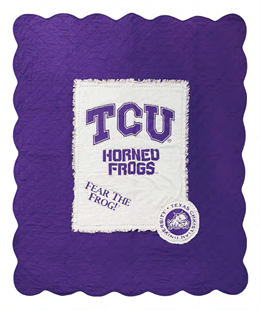 Great Finds carries collegiate throws! Perfect for displaying at a tailgate and for keeping warm at the game!