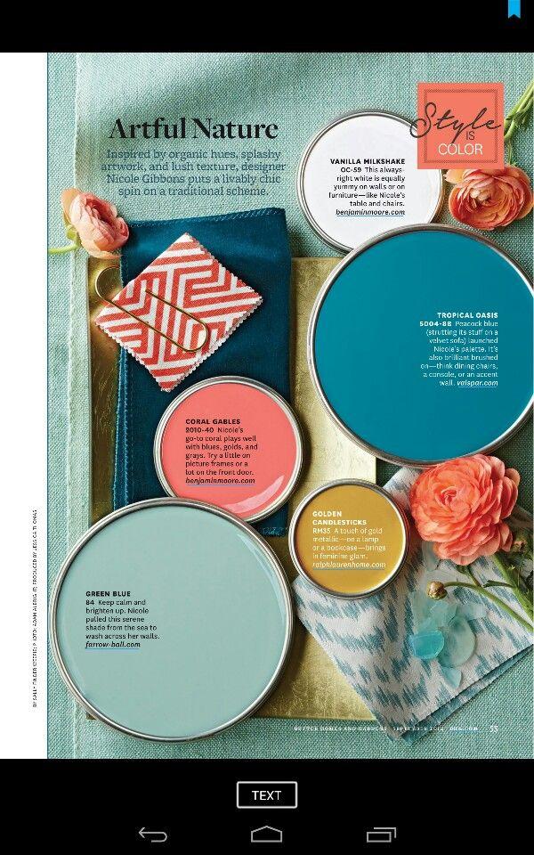 the color palette for my bedroom - Bedroom Color Psychology