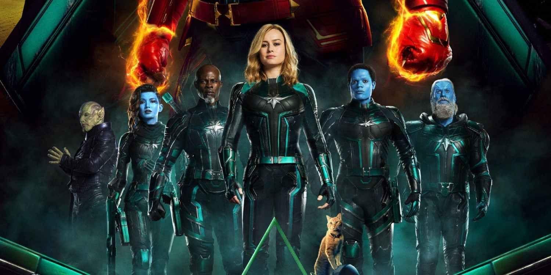 New Captain Marvel Images Make Her MCU Origin Even More Confusing ...
