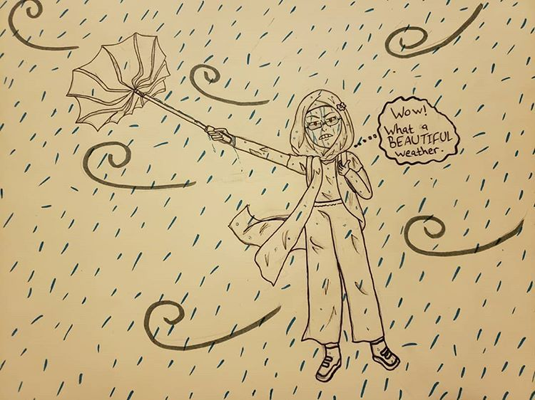 Working on a new project  _________________ #art #doodles #mystyle #rain #kawaii #wind...  Working on a new project  _________________ #art #doodles #mystyle #rain #kawaii #wind #hijab #hijabstyle #2019 #art2019 #cute #umbrella #anime #manga #girl #glasses #cartoon #animation #demonslayer #mydrawing #cuteumbrellas