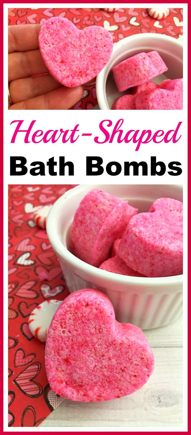 Photo of Cute Heart-Shaped Bath Bombs- Easy DIY Gift Idea