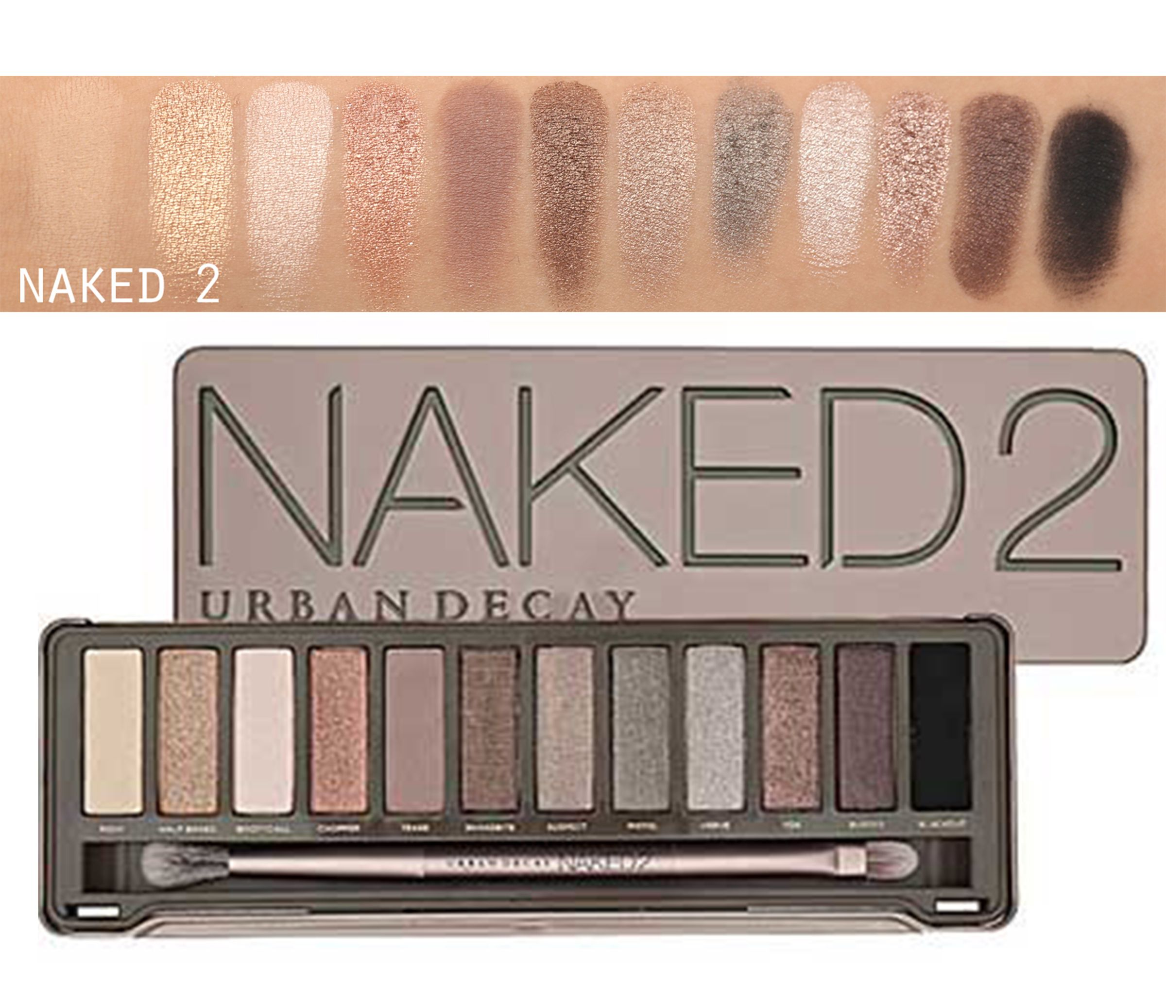 Urban Decay Naked Palettes Everything Couture