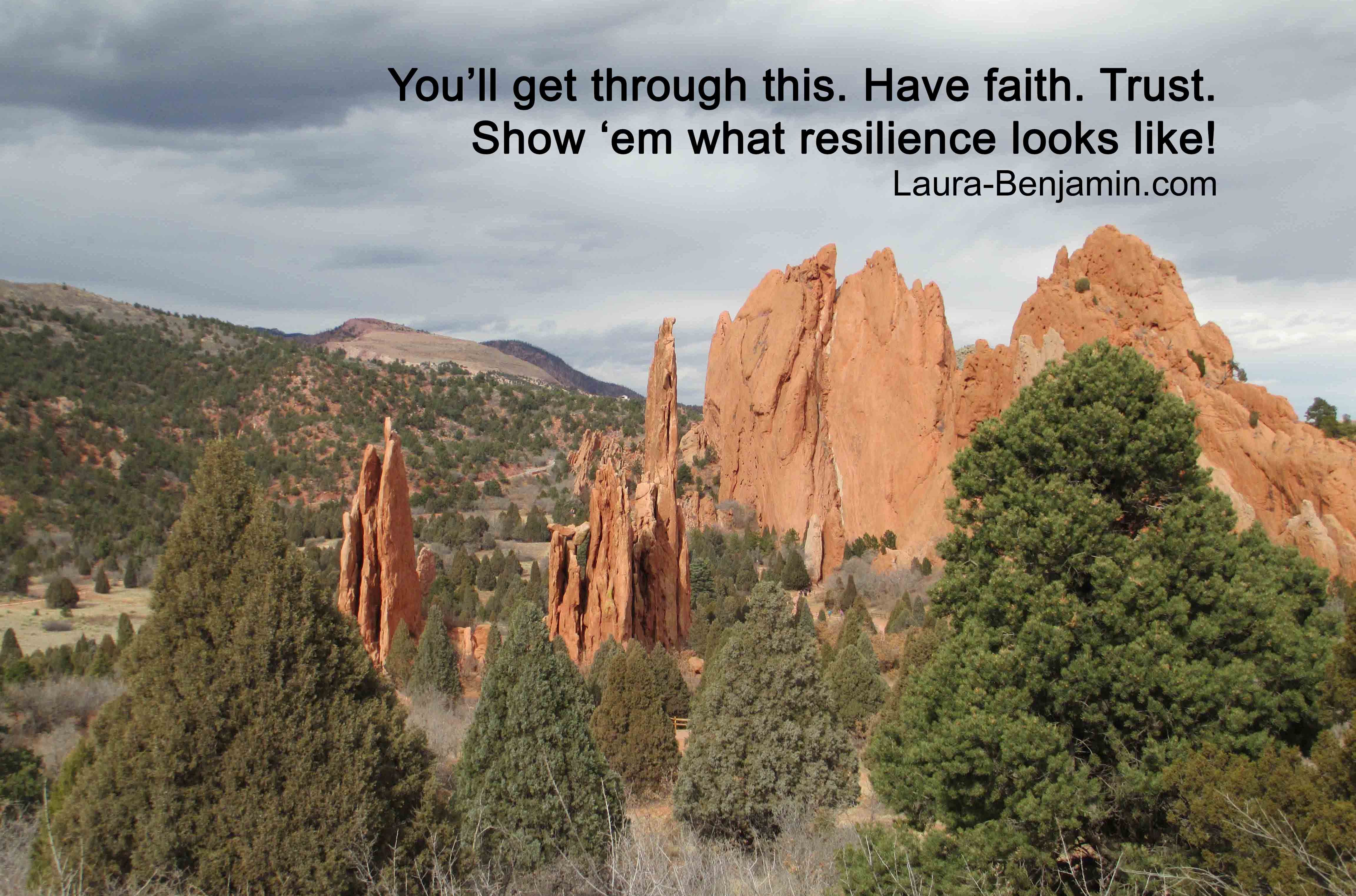 Show \'em what resilience looks like! (Garden of the Gods, Colorado ...