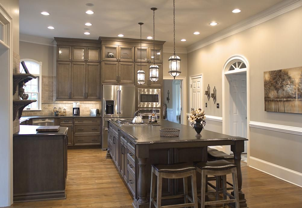 Platinum Kitchens: Double Stacked Cabinets