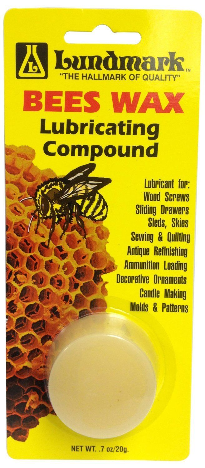 Lundmark 9105w7 6 Bees Wax Lubricating Compound 0 7 Oz Wax Pure Products Candle Molds