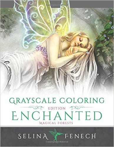 Enchanted Magical Forests - Grayscale Coloring Edition Grayscale ...