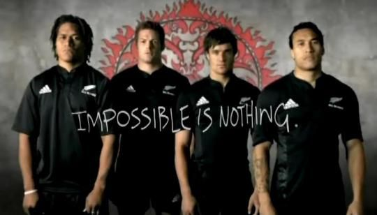 Impossible Is Nothing All Blacks Rugby All Blacks Richie Mccaw Dan Carter