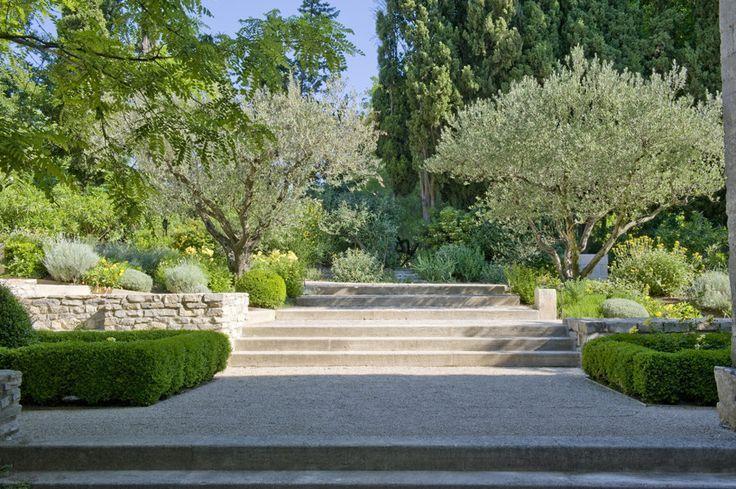 Pin von jacques fernot auf top gardens pinterest for Garten 2 ebenen