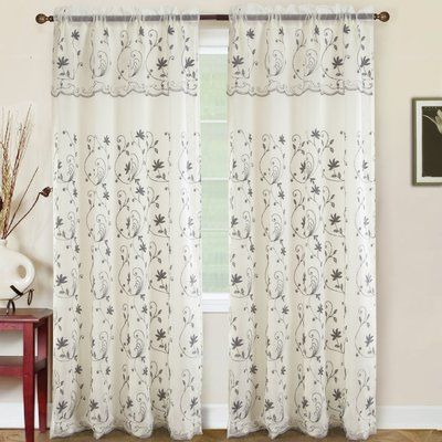 Basics Solid Blackout Grommet Single Curtain Panel Rod Pocket Curtains Panel Curtains Curtains