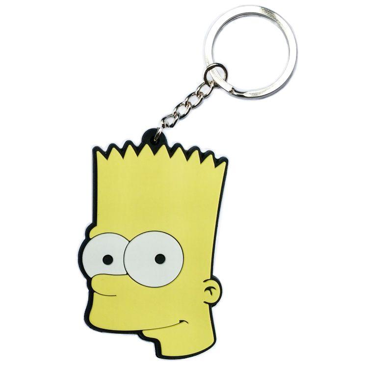 Aliexpress.com: Comprar Altura 6.5 CM los Simpsons llavero llavero de dibujos animados pequeño colgante colgar decoraciones ornamento de entrega de anillo de adorno confiables proveedores de Friends' Supermarket.