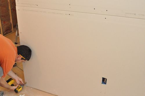 How To Install Drywall With 75 Pics Hanging Taping Finishing Drywall Installation Drywall Basement Remodeling