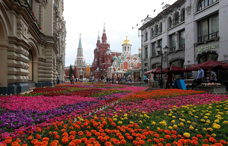 что москва улицы в цветах картинки меняю