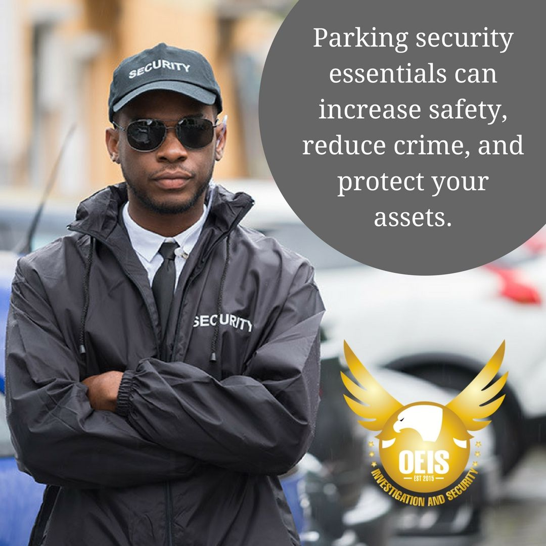 Parking security essentials can increase safety, reduce