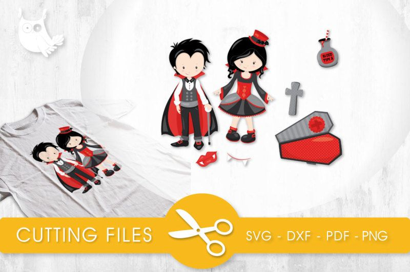 47+ Vampire Haunting Svg, Png, Eps, Dxf, Cut File DXF