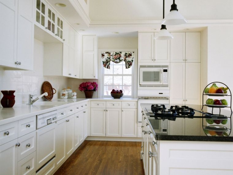 Cocina blanca - 42 diseños de cocinas que te encantarán - | Cocina ...