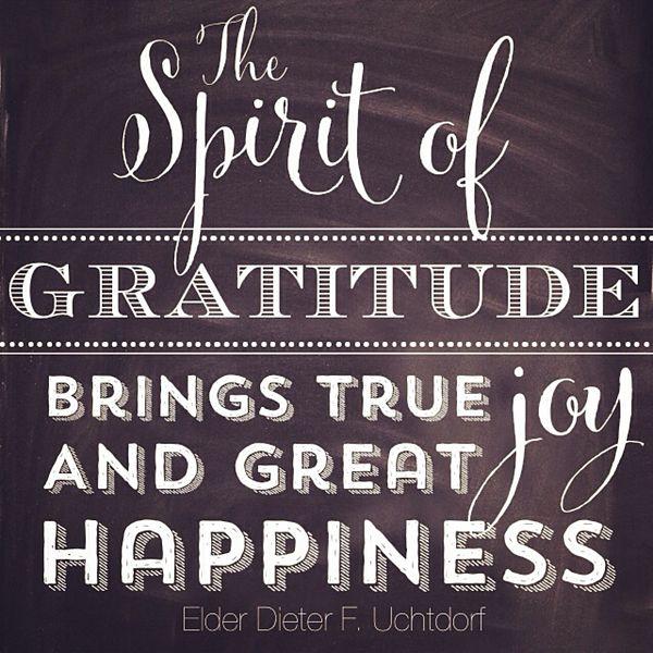 Attitude Lds Quotes On Gratitude