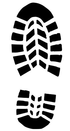 45+ Running shoe print clipart ideas in 2021