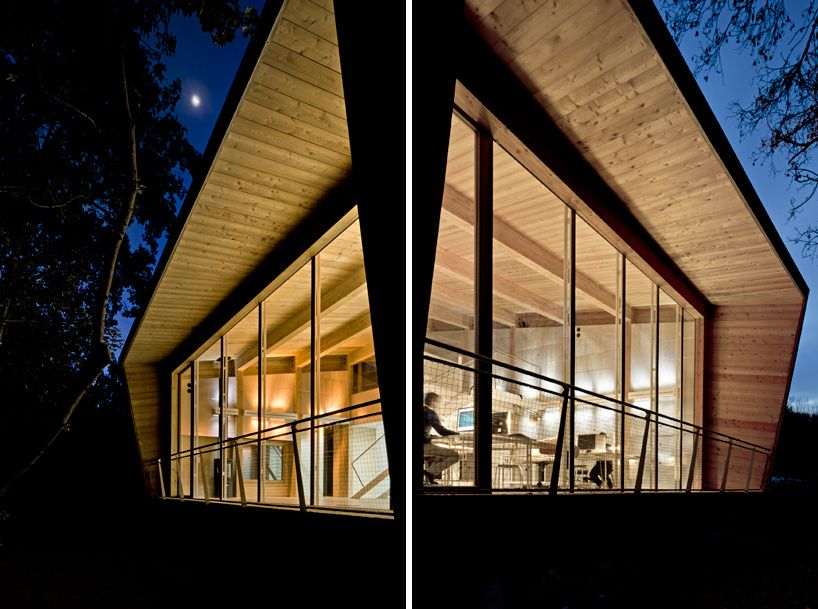 Www Designboom Com Architecture Traverso Vighy Tvzeb Zero Energy Building Zero Energy Building Solar Panels Roof Traditional Building