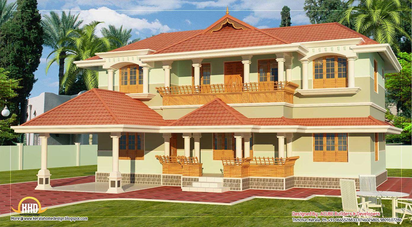 Kerala Style Story Home Design Sq Ft March Home Plans Modular Home Plans Home Design India House Designs Free Home Plans Free House Plans 800 Sq Ft Kerala Hou Kerala