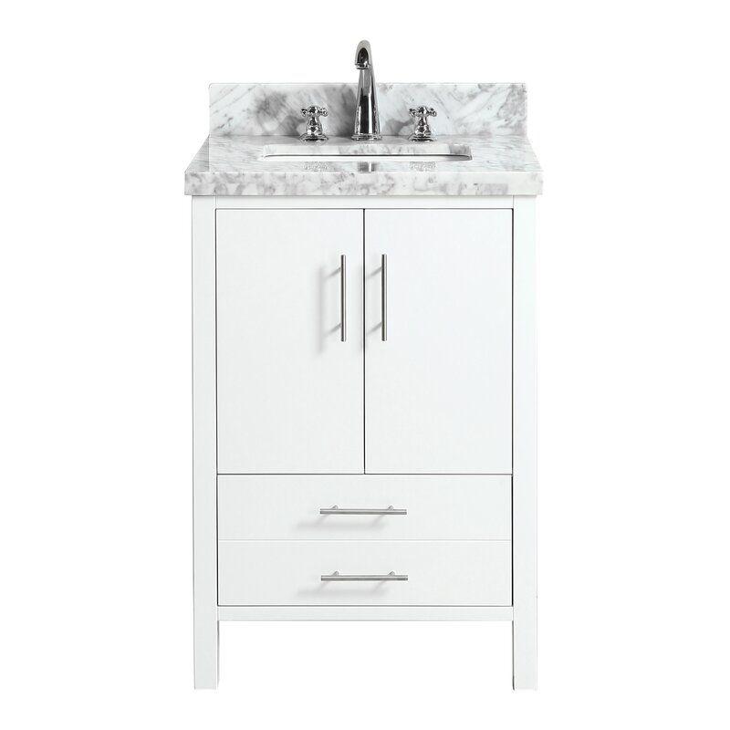 Baillons 24 Single Bathroom Vanity Set In 2020 Vanity Single