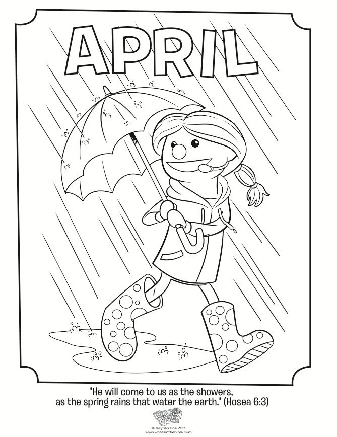 April coloring page hosea 68 whats in the bible
