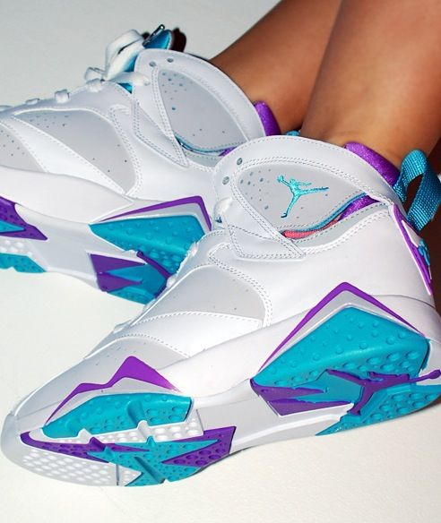 Jordan 7 Charlotte Hornets All Da Baby 704 Sneaker Chic