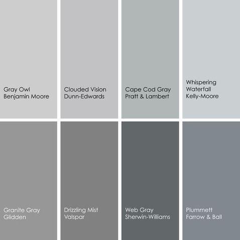 Shades Of Gray Paint Colorswall
