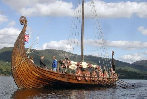 Pin By Gary Freeman On Viking Ships Viking Ship Boat Sailing