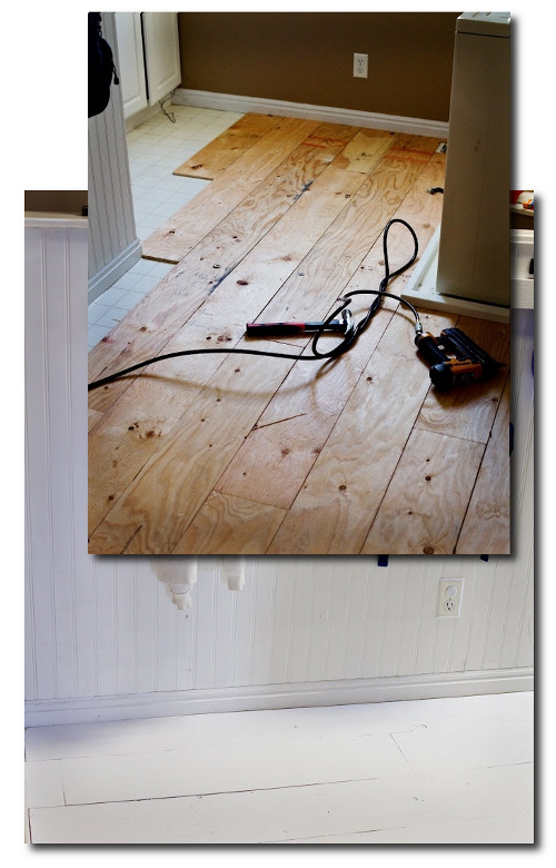 Plywood Hardwood Floor Wood Plank - 8 inches wide to mimic ...