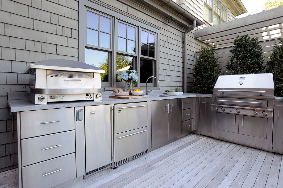 The Hamptons Kalamazoo Outdoor Gourmet Outdoor Kitchen
