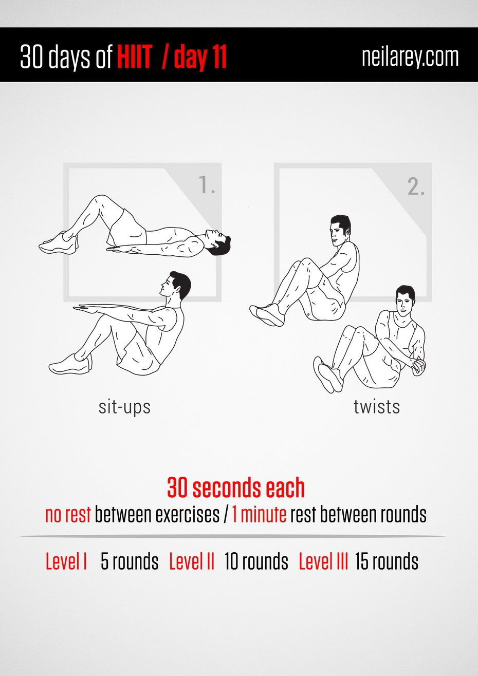 30 Days of HIIT / Day 11