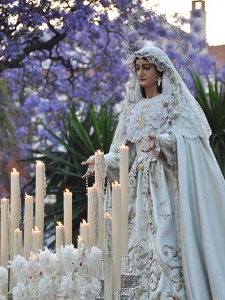 Procesión Virgen del Rocío Málaga