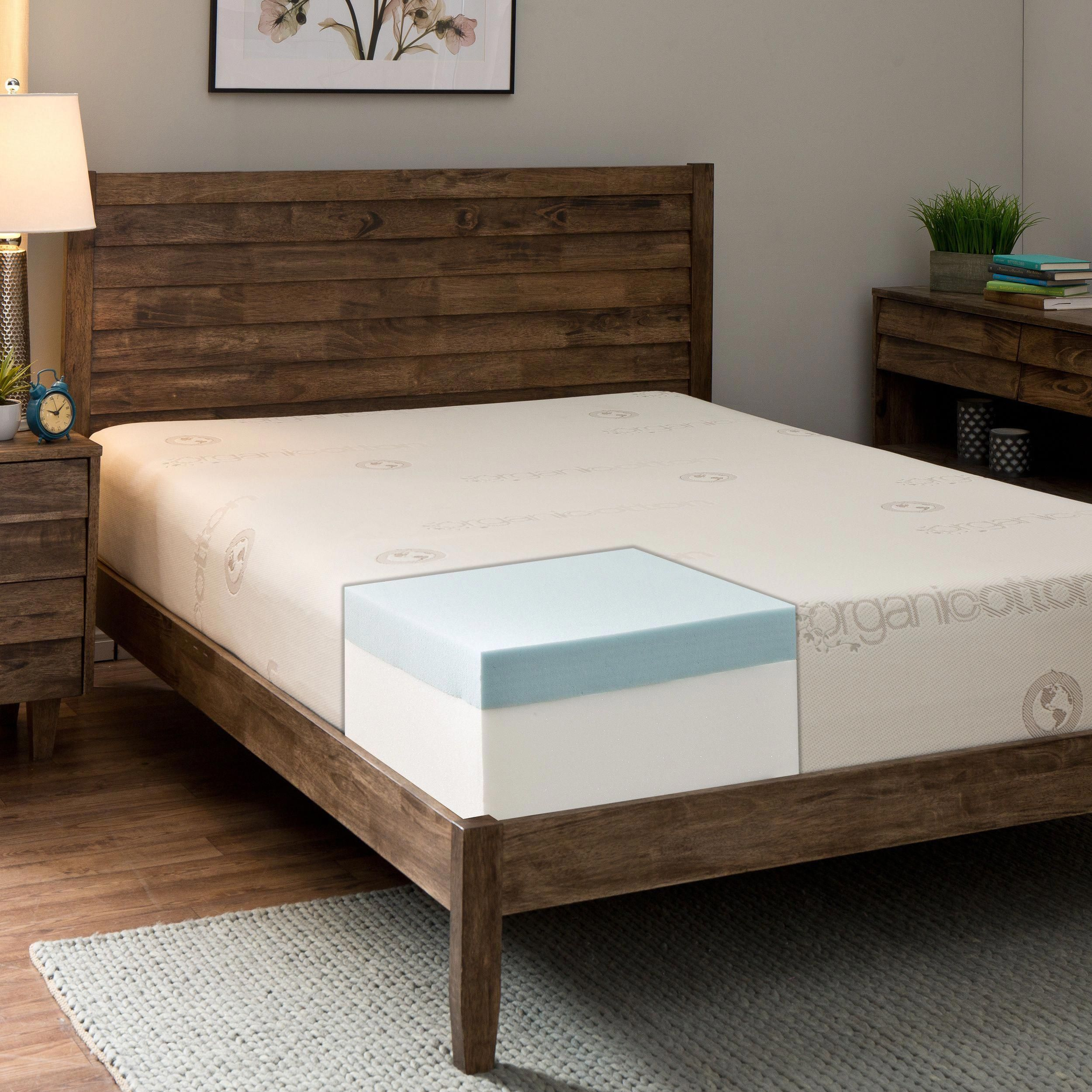 Comfort Dreams Cotton 10 Inch King Size Memory Foam Mattress Memoryfoammattresshot King Size Memory Foam Mattress Memory Foam Mattress Foam Mattress