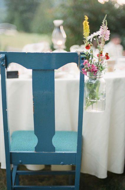 Washington State Wedding By You Look Nice Today Photography Frugal Wedding Flowers In Jars Wedding