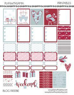 Free Holidays Planner Printable | Plan with Samia