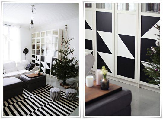 Do it yourself projects in black white apartment therapy do it yourself projects in black white solutioingenieria Gallery