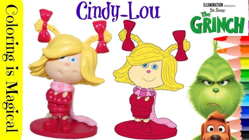 Coloring Cindy Lou From Dr Seuss The Grinch Movie Grinch Coloring Pages The Grinch Movie Grinch