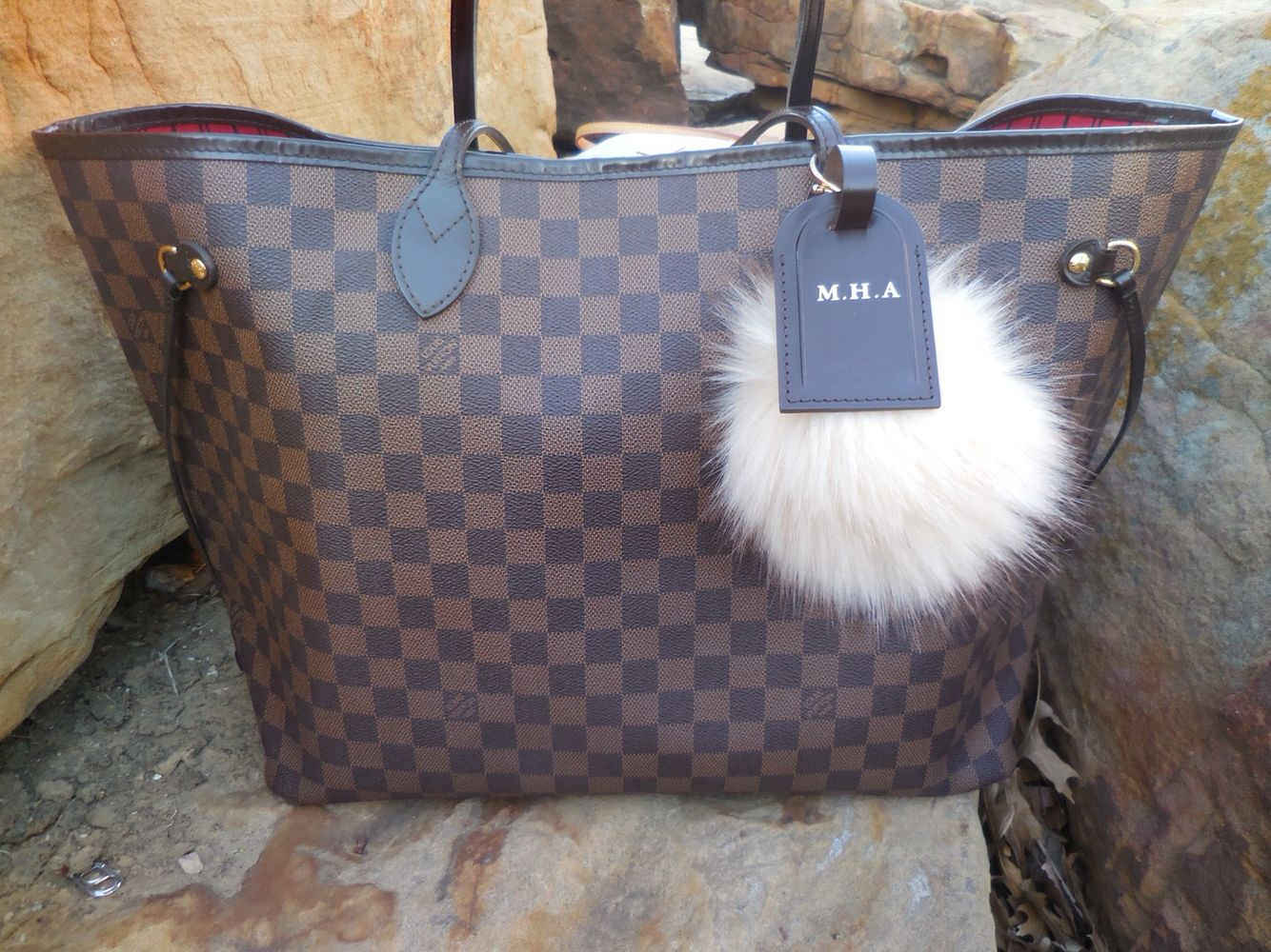 d241296bc296 This beauty is mine!! wooo hoooo Louis Vuitton Neverfull GM in Damier  Ebene. www.louisvuitton.com