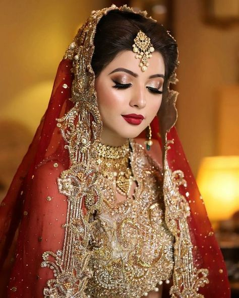 Hairstyles Pakistani Waleema: 46 Trendy Pakistani Bridal Makeup Walima Fashion Styles In