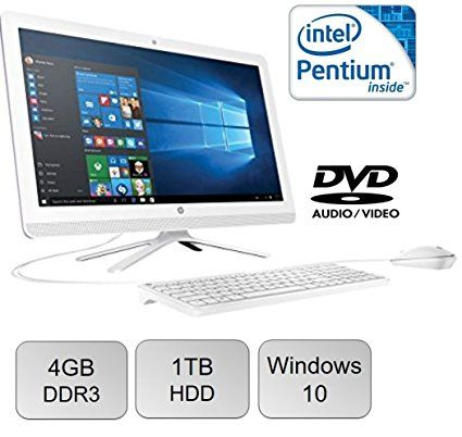 2017 Newest Model HP 22 FHD IPS (1920 x 1080) All-in-One Desktop PC