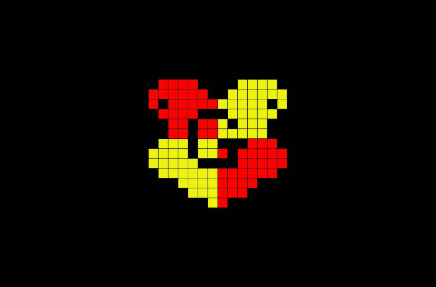 Hogwarts Gryffindor House Crest Pixel Art Pixel Art Harry Potter Coloriage Harry Potter Dessin Pixel