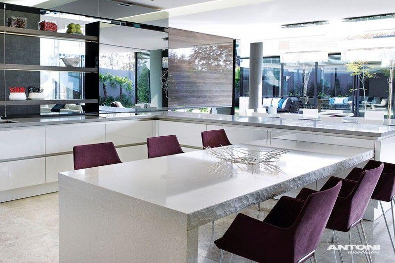 Diseño de Interiores & Arquitectura: Casa Contemporánea e Histórica ...